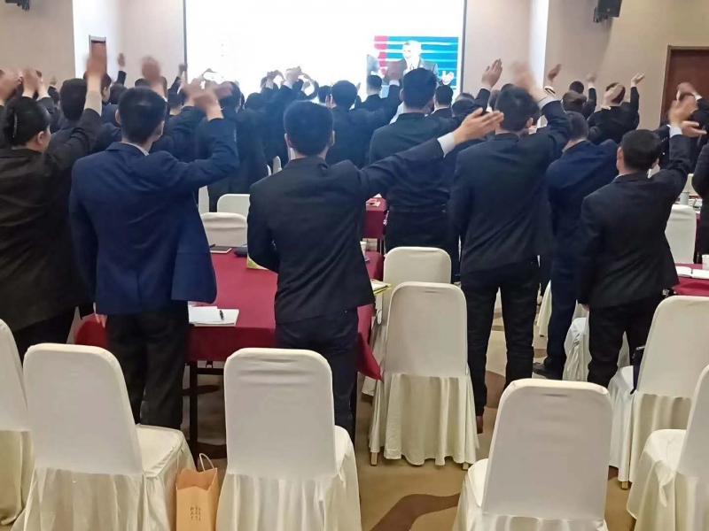 4月28.29.30日为上市医药集团第五次进行礼仪培训